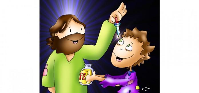 Missa com crianças - Cura do cego