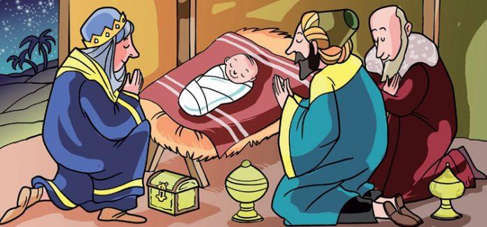 Missa com crianças Epifania. Os reis magos