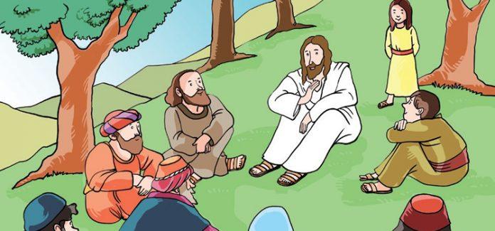 Missa com crianças As bem-aventuranças