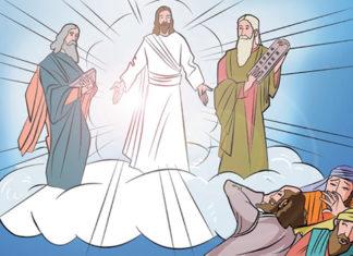 Missa com crianças teatros e historinhas - Transfiguração do Senhor