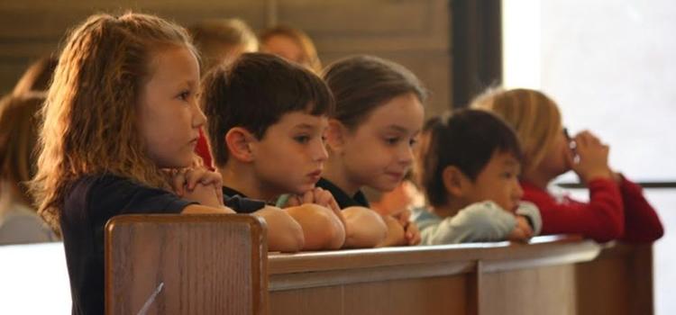 Missa com crianças As crianças e a missa dominical