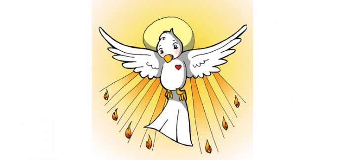 Missa com crianças, Pentecostes