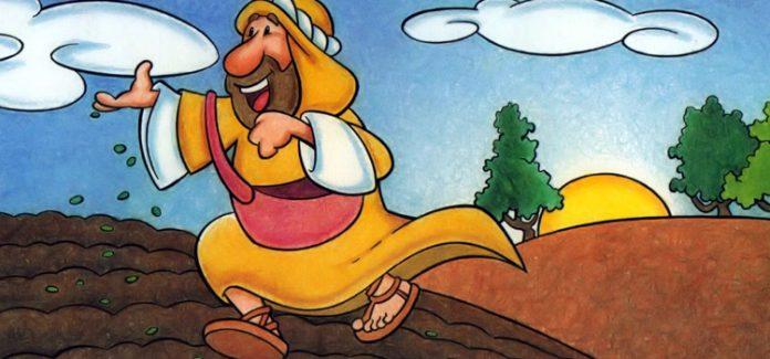 missa com crianças, a parábola do semeador